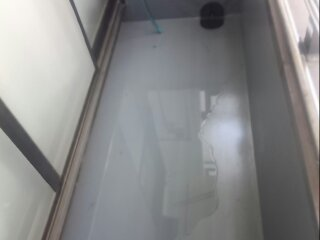 江戸川区 G様邸、水たまり解消工事
