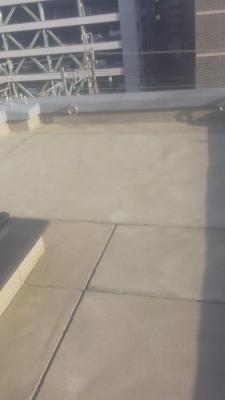 東京都葛飾区某貸ビル_階段・通路リフォーム工事