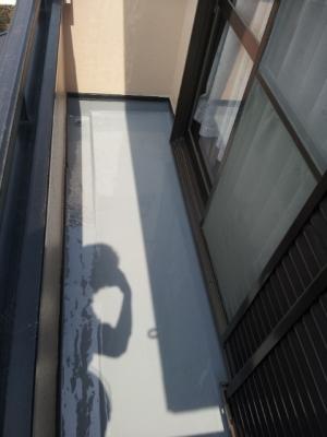 足立区 一般住宅 【ベランダの防水工事】 【雨漏り修理】 (自社施工店の安心価格 48.000円)