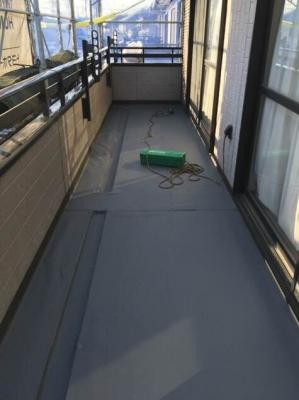 埼玉県さいたま市南区 一般住宅 雨漏り修理 【ベランダの防水工事】