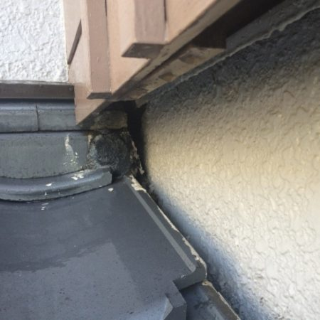 【草加市草加の雨漏り修理】壁・ベランダからの雨漏り(散水調査)