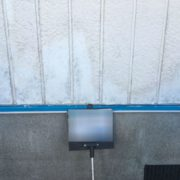 外壁の補修工事完了