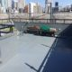 屋上のウレタン防水工事