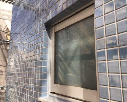 窓廻りのコーキング打ち替え 施工完了