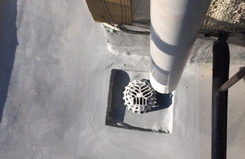 ウレタン防水施工完了
