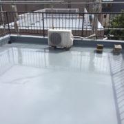 屋上のウレタン防水(通気緩衝工法)
