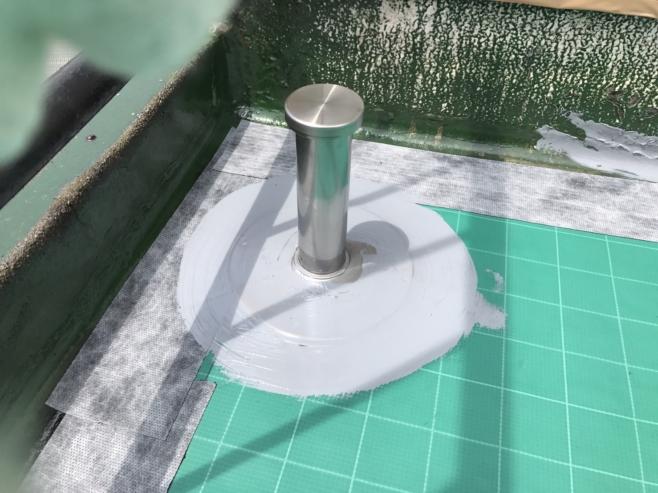 雨漏りによるルーフバルコニーのウレタン防水(通気緩衝工法)|東京都江戸川区青砥にお住いのT様邸のリフォーム