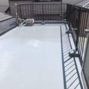 ルーフバルコニーのウレタン防水(通気緩衝工法)