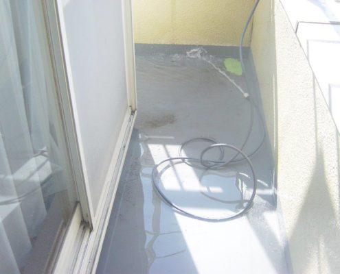 雨漏り調査、水張り検査