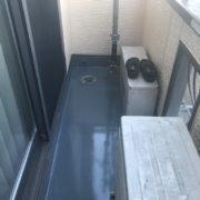 ベランダの雨漏り修理(ウレタン密着工法)