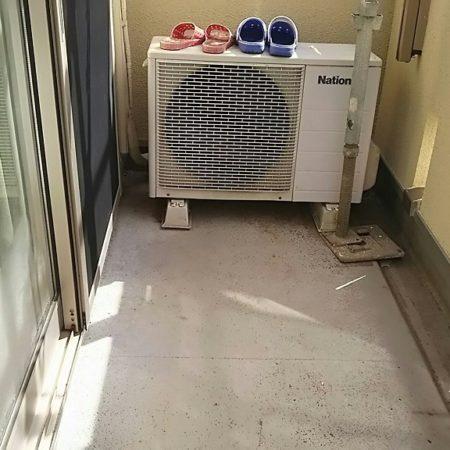 日照りが少ないベランダの雨漏り修理(ウレタン防水・密着工法)|埼玉県越谷市・S様邸にて防水リフォーム