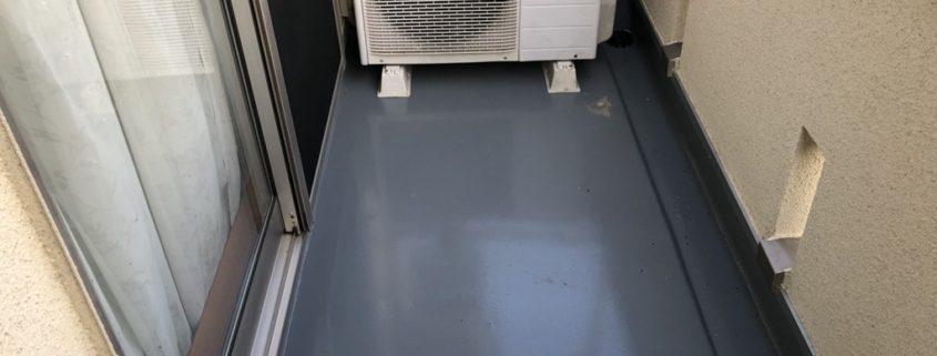 ベランダの雨漏り修理(ウレタン防水・密着工法)