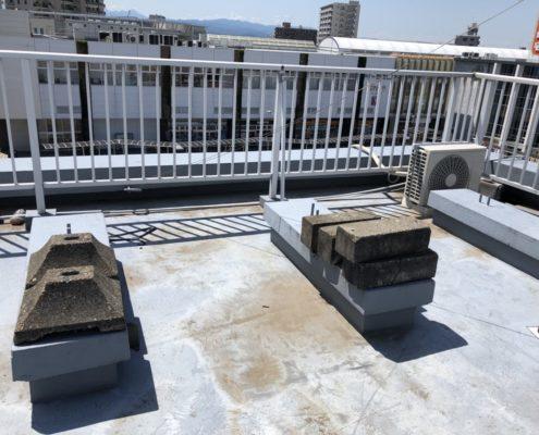 屋上の雨漏り診断