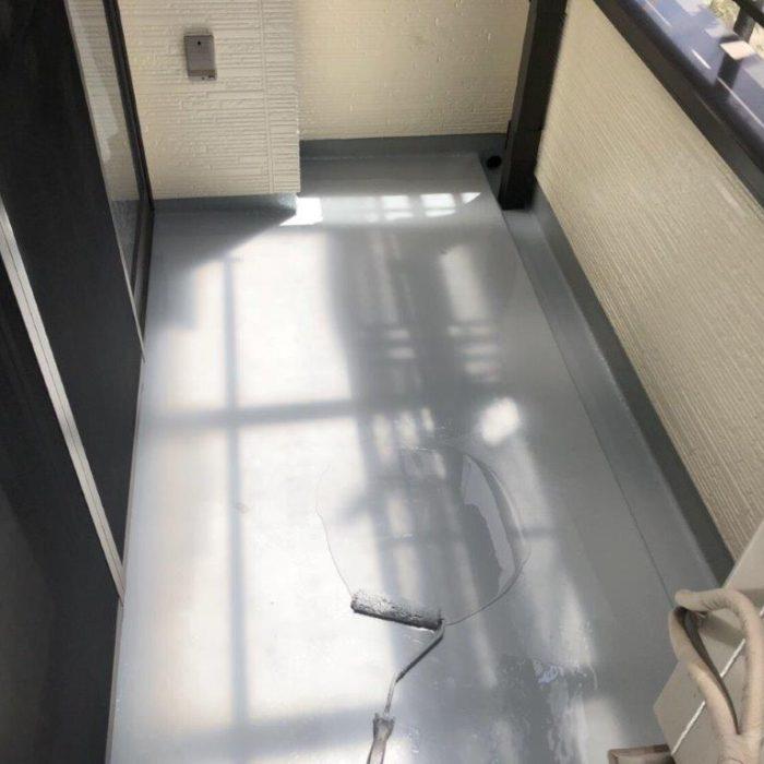 ベランダのメンテナンスに伴う防水工事(ウレタン密着工法)|東京都葛飾区のS様邸にて雨漏り補修