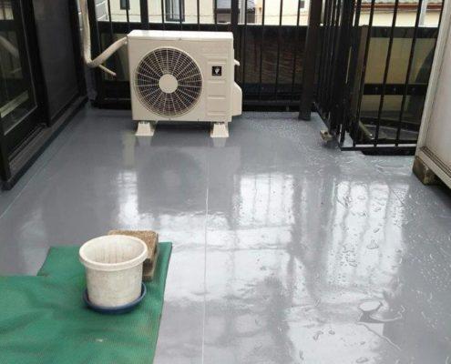 屋上バルコニーの防水工事