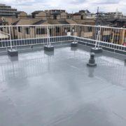 屋上防水(ウレタン通気緩衝工法)