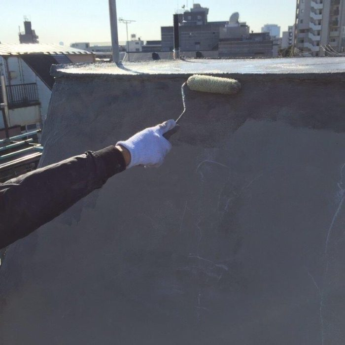 斜壁屋根の防水工事(X-2工法)|東京都北区のY様邸にて雨漏り修理
