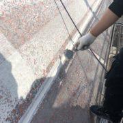 外壁目地のコーキング処理
