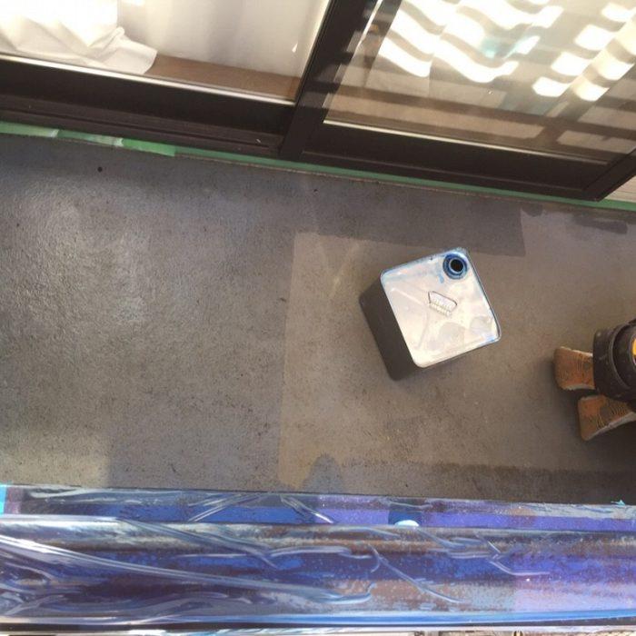 ベランダのFRP防水工事|東京都目黒区のT様邸にて雨漏り修理