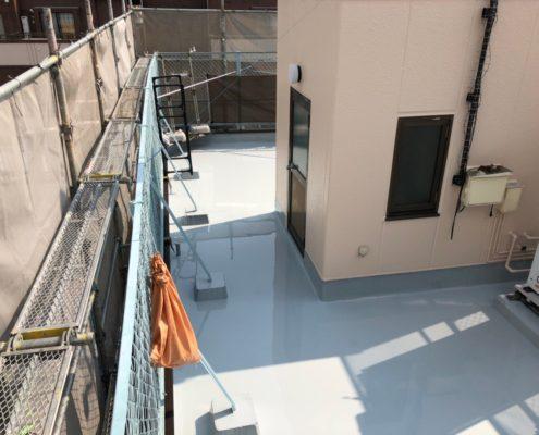屋上のウレタン防水