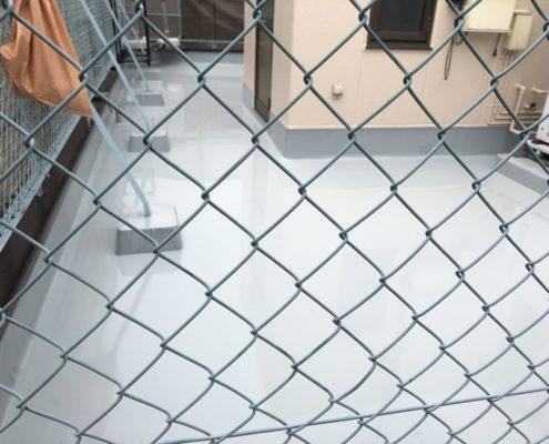 バルコニーと屋上の防水工事