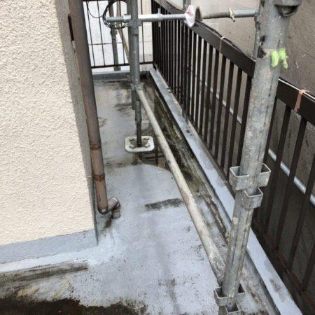 ベランダ・バルコニーの防水工事(ウレタン通気緩衝工法)|東京都板橋区中台のM様邸にて雨漏り修理
