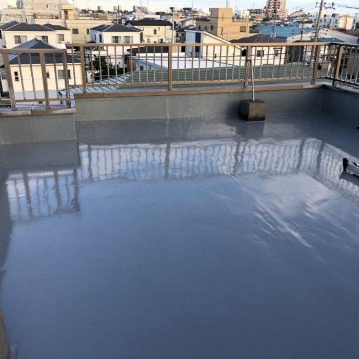 屋上・塔屋の防水工事