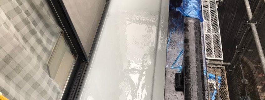ウレタン樹脂・2層目の塗装