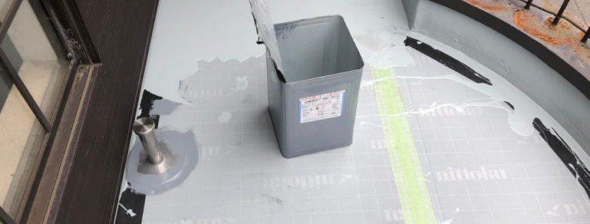 ウレタン樹脂1層目の塗装