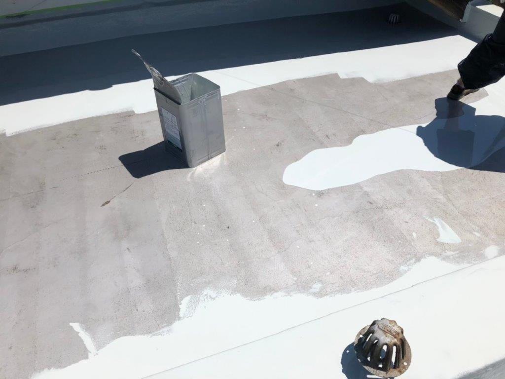 平場のウレタン塗装