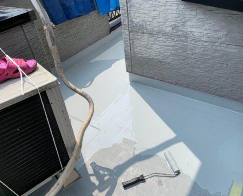 床平面部 ウレタン塗装